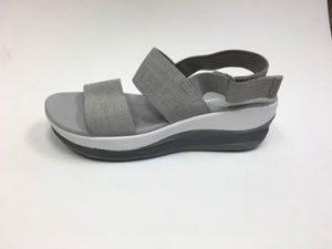 Woman sandal lift modification